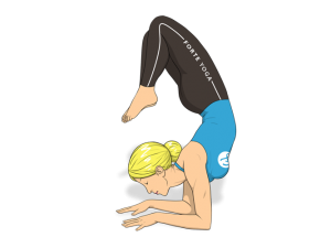 Devotion Scorpion Yoga Pose