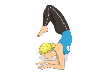Devotion Scorpion Yoga Pose