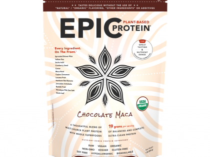 Epic Protein : Chocolate Maca 16 oz