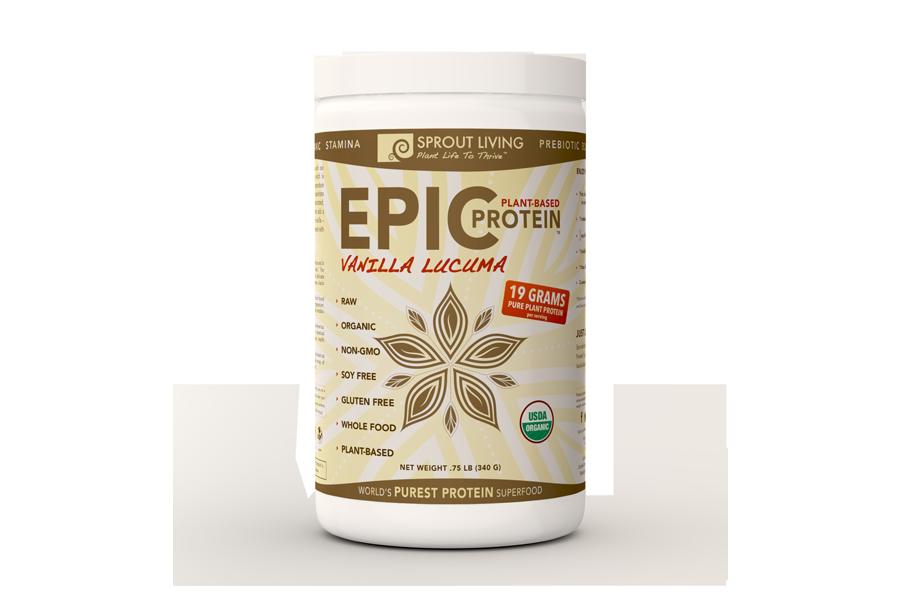 Epic Protein : Vanilla Lucuma 12 oz