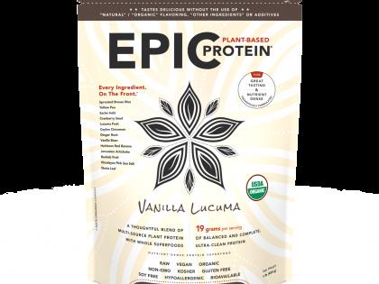 Epic Protein : Vanilla Lucuma 16 oz