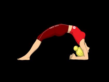 Upward Facing Two Foot Staff Yoga Pose